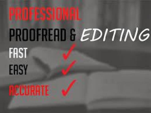 essay editing and proofreading