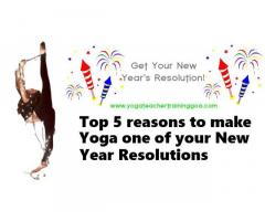 Top 6 reasons to make yoga one of your New Year resolutions