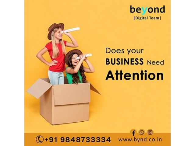 Beyond Technologies  Web designing company in India