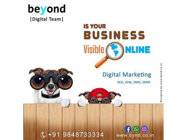 Beyond Technologies |Digital Marketing company in Vizag